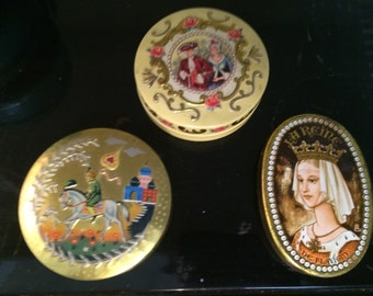 Vintage Tins Made In England, Very Nice