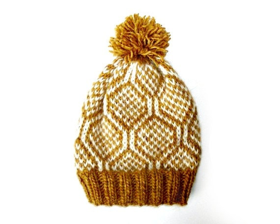 PDF Knitting Pattern Nordic Icelandic Wool Hat Pattern