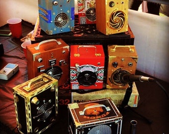 The Funguy Mojo 7.5w Cigar Box Amplifier