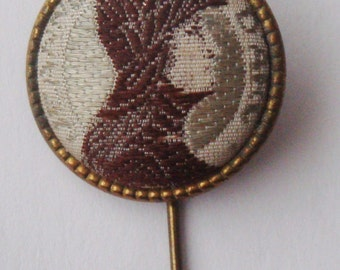 Rare Gorgeous Old Pin St. Joan Of Arc