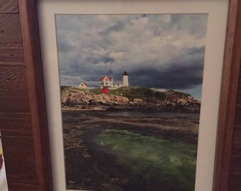 Colors of the Nubble framed 8x10 print