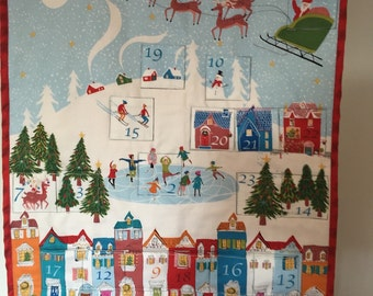 Handmade Christmas Advent Calendar