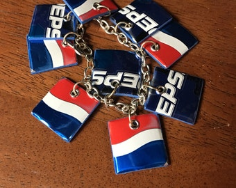 Recycled Pepsi Can Bracelet