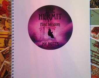 The Hermit A4 Notebook