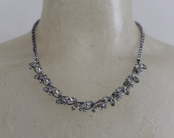 SALE 30% OFF Vintage costume jewelry necklace found in Paris