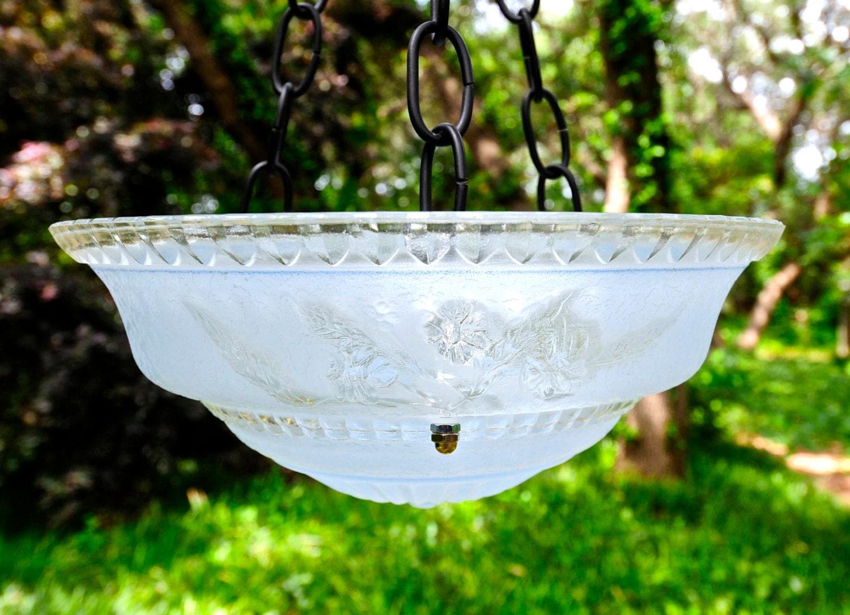 Hanging Bird Bath Glass Bird Feeder By Stellaerwins On Etsy