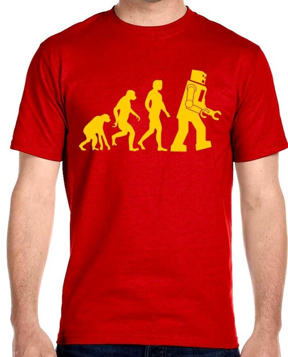May The 4th Be With You Sheldon Cooper: Big Bang Theory Sheldon Cooper Robot Evolution T-Shirt