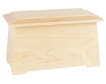 Maple Sonata Wood Cremation Urn