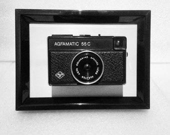 Framed camera - Agfa - Agfamatic 55C