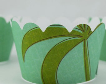 Palm Tree Cupcake Wrappers