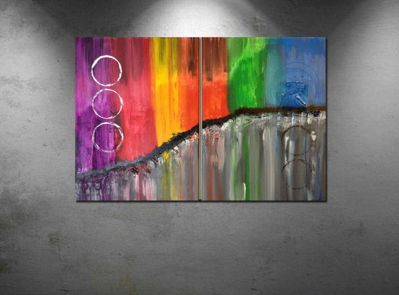 Abstract paintings, Acrylic paintings, large art painting, wall art canvas, large original painting