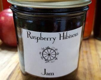 Raspberry Hibiscus Jam