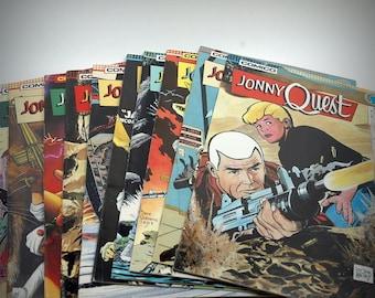 Jonny Quest Comico Comic Books Vol 1-10
