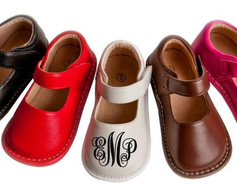 Monogrammed Squeaker Shoes