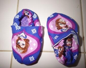 Crib shoes--Princess Sophia