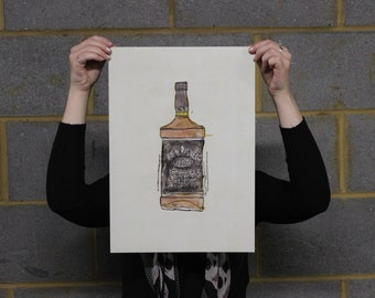 Jack Daniels Illustration