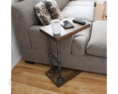 Industrial Furniture, Coffee Table, Side Table, Laptop Stand, End Table, Computer Table - CTABLE q1