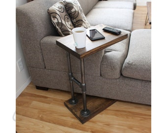 Industrial Furniture, Coffee Table, Side Table, Laptop Stand, End Table, Computer Table - CTABLE