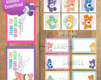 Care Bear Birthday Party Pack Decoration Kit