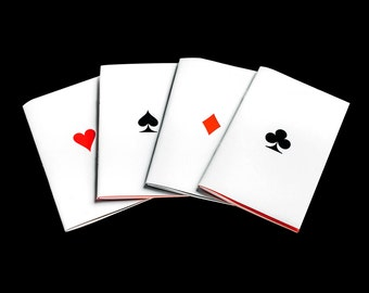Playing Cards Notebook Set