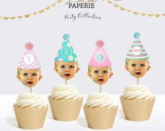 Birthday Cupcake Toppers