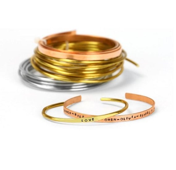 Artistic Wire, Flat Craft Wire, Bare Copper, Flat Wire, 21 Gauge, 3 ...