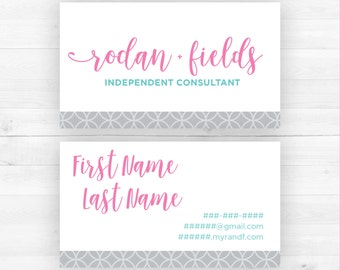 Rodan and Fields Business Cards | Customized Printable