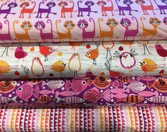Sorbet Pets Bundle, Michael Miller Fabrics