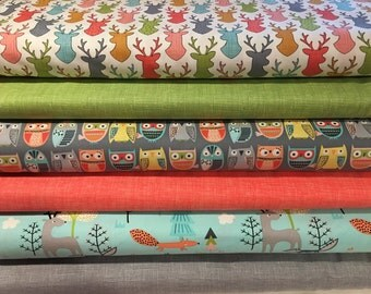 Walk in the Woods Bundle, from Timeless Treasures