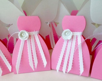 Fairy Favor Fairy Favor Box Fairy Birthday Fairy Boxes Fairy Party Pink Fairy Favors Pink Fairy Decorations 9 Included