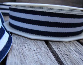 Nautical stripe ribbon