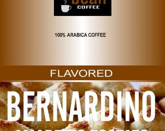 Bernadino Amaretto Tostato Macaroon Flavored Coffee with a nuance of sweet almonds. 2oz amaretto tostato. Toasted almonds. Toasted macaroons