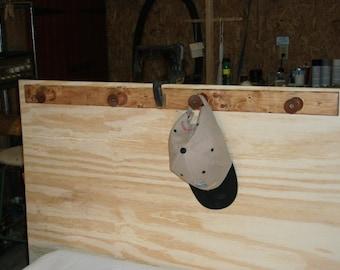 Wood - Coat - Hat Rack  hanger