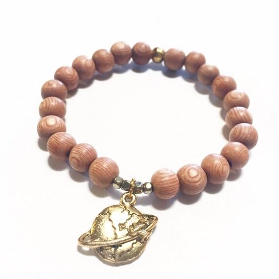 Globetrotter (Rosewood Charm Bracelet)