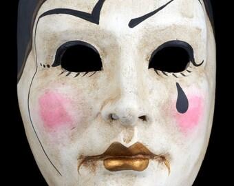 Venetian Mask | Pierrot