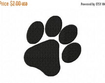 40% OFF - Paw Print Machine Embroidery Design Multiple Formats Available - Instant Download