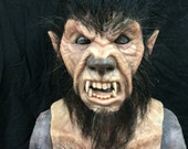 Werewolf - classic hair - silicone life like mask