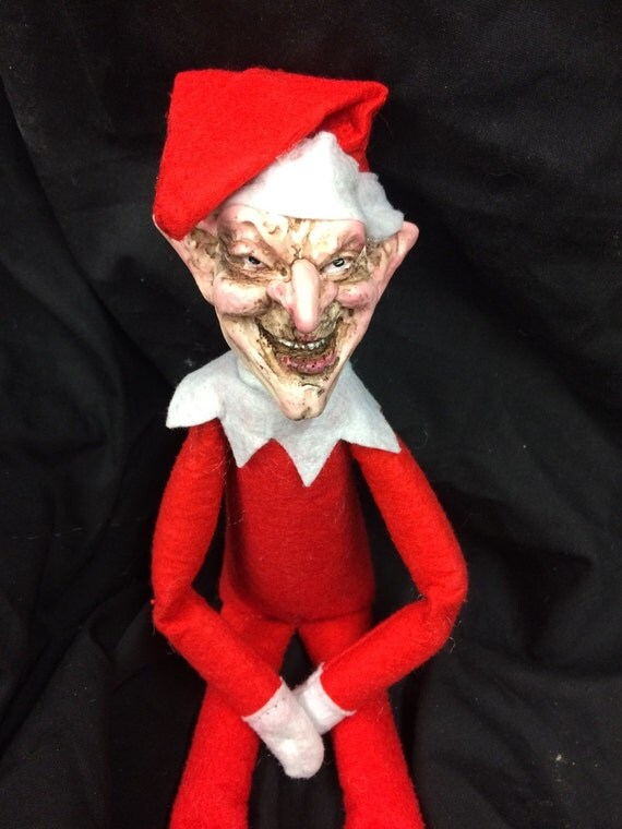 Creepy Elf Doll An Alternative Elf For Your Shelf