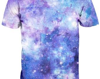 Purple Galaxy T shirt