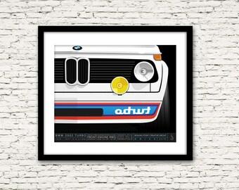 Drive Signature Series Poster 2 BMW 2002 Turbo