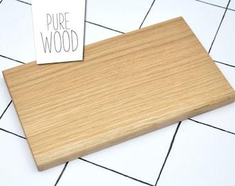 Modern minimal cutting board OAK WOOD #1