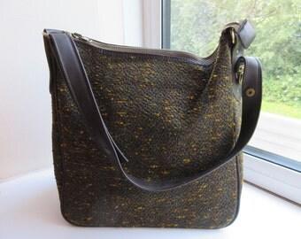 Vintage 1970's VERY Cute Handbag / Shopping Bag - Lovely!!