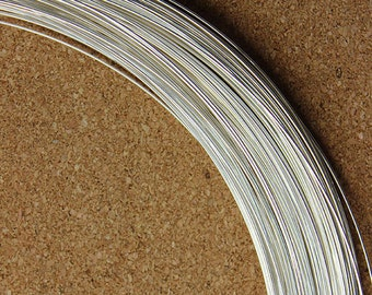 Round Sterling Wire 20ga (0.8mm) Half Hard (I-SRW20H) (Sold by 5ft)