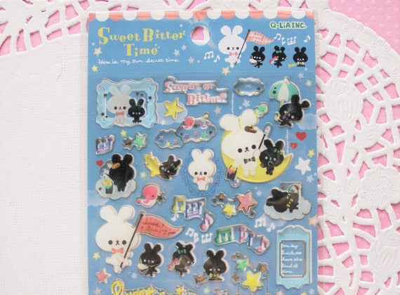 Q Lia Sweet Bitter Time Sticker Sheet  Night Time Bunny. Pointless Signs. Ballet Wall Murals. Giant Signs. Campaign Facebook Banners. Medical Technology Banners. Tourism Murals. Microphone Logo. Daycare Logo