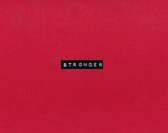Stronger, limited edition book
