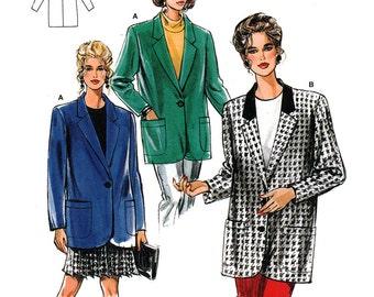 Burda 4458 Sewing Pattern Misses' Jacket  Size:  10-22  Uncut