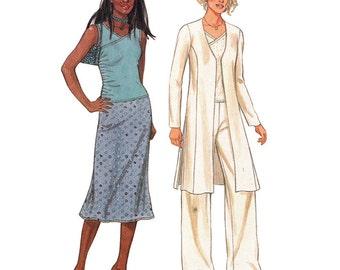 New Look 6148 Sewing Pattern Misses Jacket, Blouse, Pants, Skirt  Size:  A 6-16  Uncut