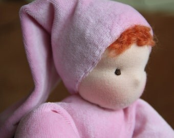 Cuddle doll waldorf style 11' (28 cm)