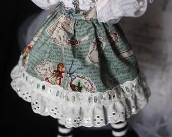 BJD MSD Little Red Ridding Hood Lolita Skirt