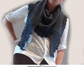 Acacia Shawl. Knitting Pattern.